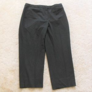 Black Talbots Crop Pants